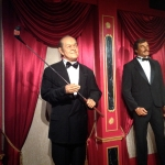 Actor as a Wax Figure in Niagara Falls Movieland Wax Museum