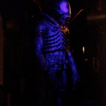 Alien Wax Figure at Niagara Falls Movieland Wax Museum