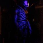 Alien Wax Figure at Niagara Falls Movieland Wax Museum