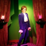 Austin Powers Wax Figure