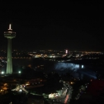 Night Time Skylon Tower