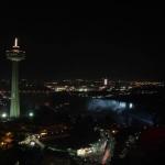 Night Time Skylon Tower