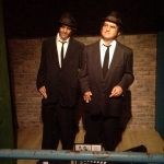 Blues Brother Wax Figures