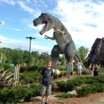 Dinosaur Golf at Clifton Hill