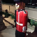 British Royal Guard Statue in Niagara Falls