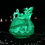 Celadon Pitcher at the Winter Festival of Lights
