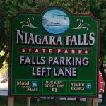 Niagara Falls New York State Sign
