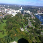 Clifton Hill and Rainbow Bridge Niagara Falls Attractions Picture