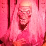 Creepy Creature at Movieland Wax Museum