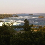 Natural View of the Niagara Falls Area