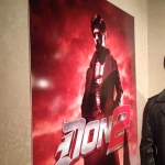 Don 2 Poster at Movieland Wax Museum
