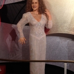Female Singer Wax Figure