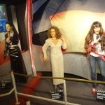 Female Singers Wax Figure