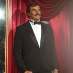 Hollywood Actor Wax Figure