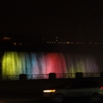Illumination of Niagara Falls Attraction
