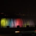 Illumination of Niagara Falls Attraction