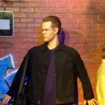 Jason Bourne Wax Figure