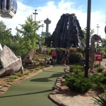 Clifton Hill Dinosaur Golf