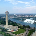 Skylon Tower Niagara Falls Shot
