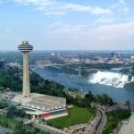 Skylon Tower Niagara Falls Shot