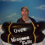 Over the Niagara Falls