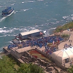 Shot of the Lineup to Maid of the Mist