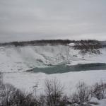 Shot of Niagara Falls in the Winter