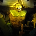 King Kong Wax Figure