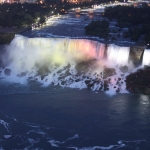Illumination of the Niagara Falls