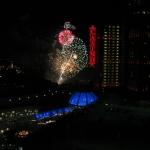 Fireworks near Casino