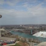 Skylon Tower Niagara Falls Landscape