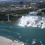 Aerial View of Niagara Falls