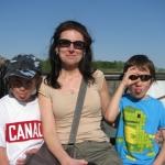 Family Picture at Niagara Falls