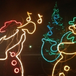 Musical Snowmen Animated Display