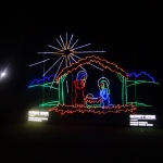 Nativity Scene Animated Lighting Display