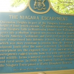 Niagara Escarpment Sign