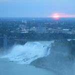 Sunrise in Niagara Falls