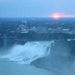 Sunrise in Niagara Falls