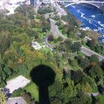 Overhead Picture of the Surround Niagara Falls Area