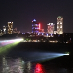 Night Time in Niagara Falls