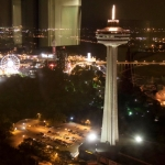 Skylon Tower Night Shot