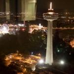 Skylon Tower Night Shot