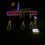 Pilgrimage to Mecca Animated Display