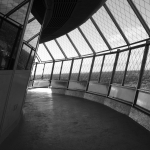 Black and White Observation Deck