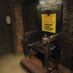 Shocker Chair at the Movieland Wax Museum