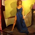 Singer Film Star Wax Figure