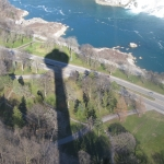 Shadow of the Skylon Tower