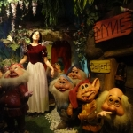 Snow White and the Seven Dwarves Wax Figures