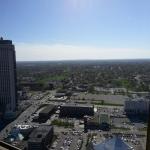 View of Niagara Falls Landscape