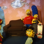 The Simpsons Wax Figures